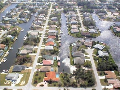 Sailboat Country Saltwater Canal Homes And C Section